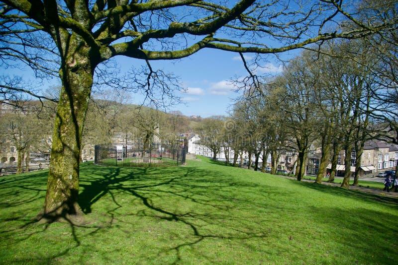 Τοπίο Buxton από τους κήπους στοκ φωτογραφίες με δικαίωμα ελεύθερης χρήσης