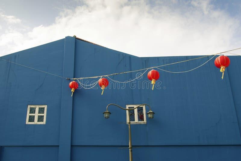 Τοπίο Chinatown στοκ φωτογραφία με δικαίωμα ελεύθερης χρήσης