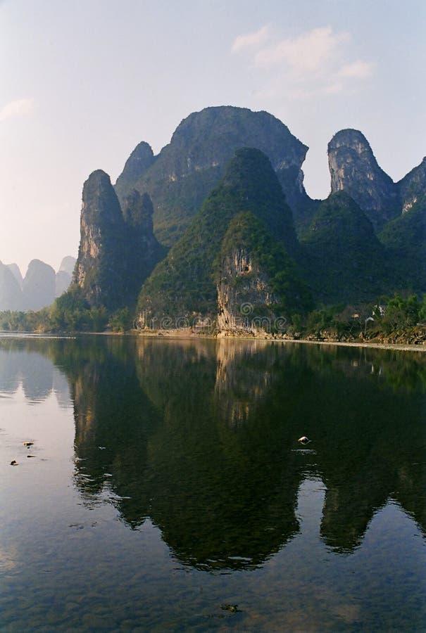 Τοπίο guilin της Κίνας στοκ εικόνα με δικαίωμα ελεύθερης χρήσης