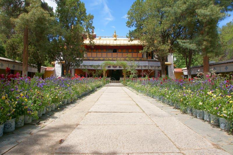 Τοπίο Norbulingka στοκ εικόνες