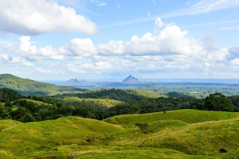 Τοπίο Queensland βουνών στοκ φωτογραφία