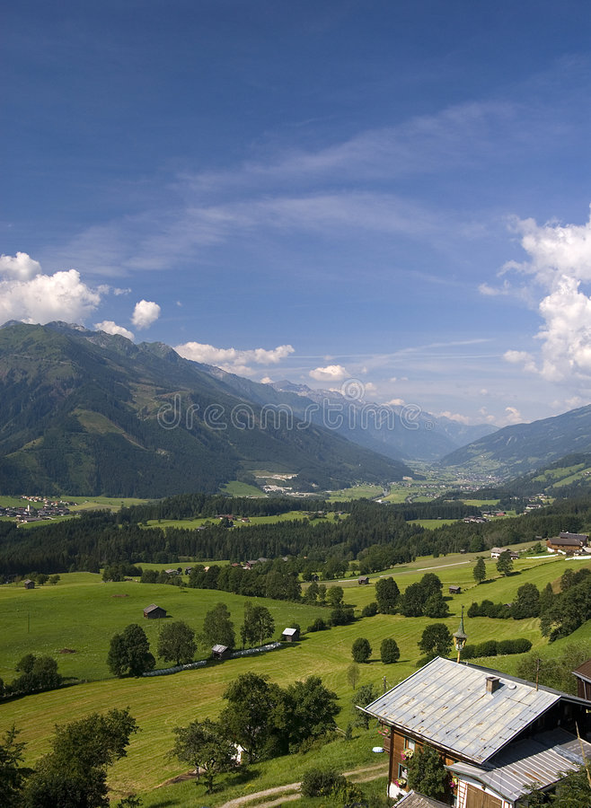 τοπίο Tirol στοκ εικόνα με δικαίωμα ελεύθερης χρήσης