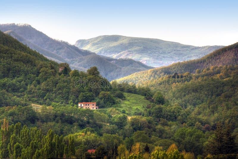 τοπίο tuscan εικόνας χαρακτηρ&iota στοκ φωτογραφίες με δικαίωμα ελεύθερης χρήσης