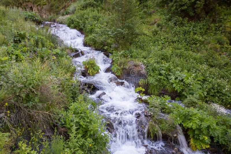 Τοπίο Tusheti στα βουνά Καύκασου, Γεωργία Τοπίο Tusheti στα μεγαλύτερα βουνά Καύκασου, Γεωργία στοκ φωτογραφία με δικαίωμα ελεύθερης χρήσης