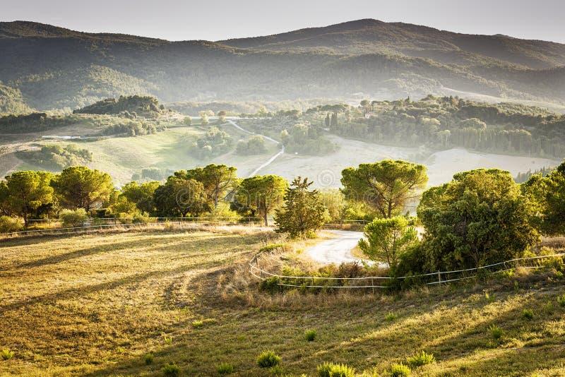 Τοπίο Volterra στοκ εικόνα με δικαίωμα ελεύθερης χρήσης