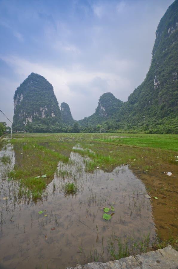 Τοπίο Yangshuo στοκ εικόνες