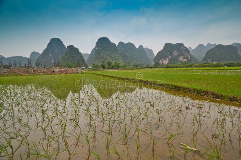 Τοπίο Yangshuo στοκ φωτογραφία με δικαίωμα ελεύθερης χρήσης