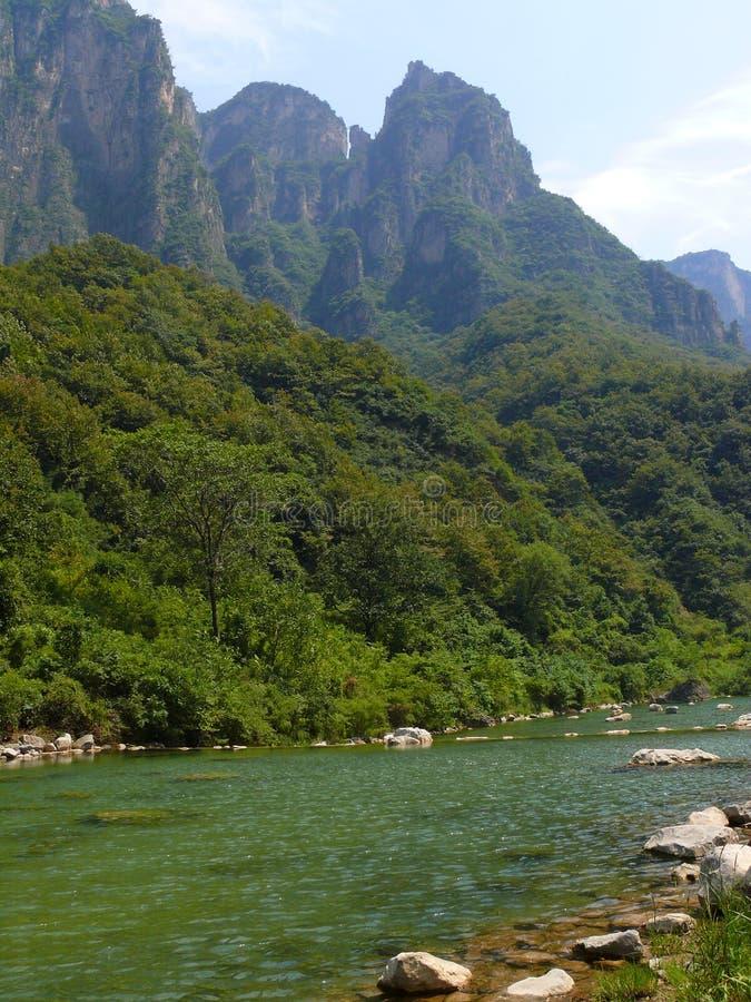 τοπίο yuntaishan στοκ εικόνες