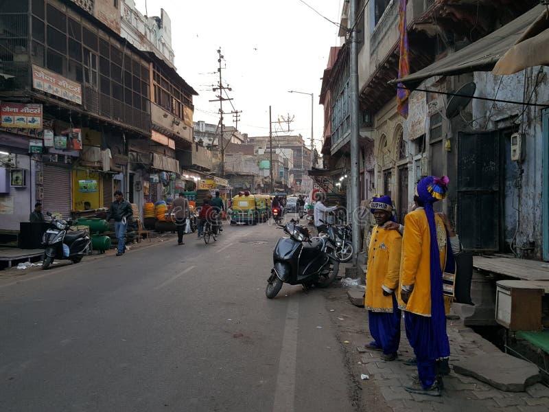 τοπική αγορά agra στοκ εικόνες