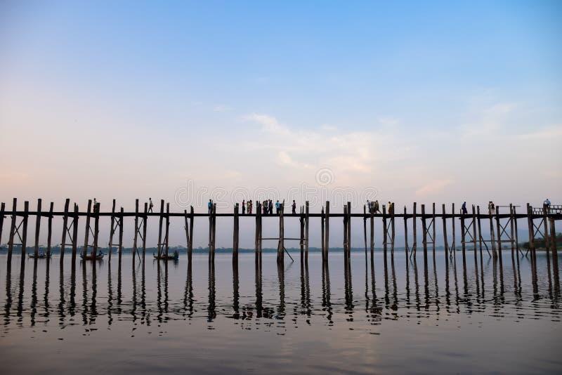 Τοπική ζωή στη γέφυρα πόνου του U στοκ εικόνες