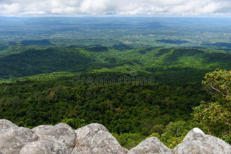 Τοπικό LAN Hin Pum (φυσικό φαινόμενο) σε Phu Hin Rong Kla εθνικό PA στοκ εικόνες