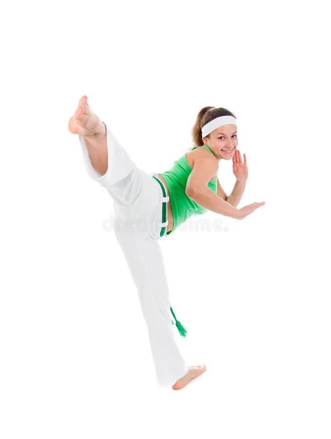 τοποθέτηση κοριτσιών χορ&e στοκ εικόνες