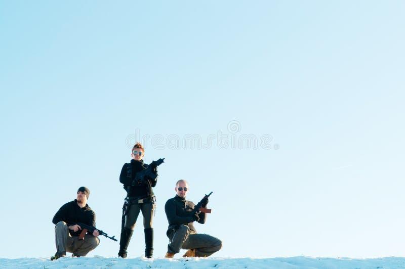 τοποθέτηση πυροβόλων όπλ&omeg στοκ εικόνα με δικαίωμα ελεύθερης χρήσης