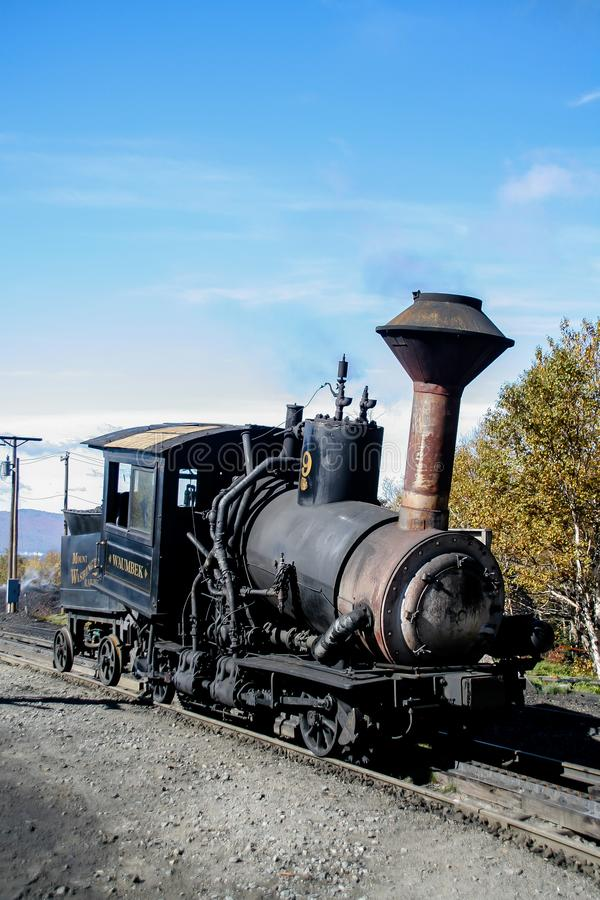 Τοποθετήστε την ατμομηχανή σιδηροδρόμων βαραίνω της Ουάσιγκτον στοκ φωτογραφία με δικαίωμα ελεύθερης χρήσης