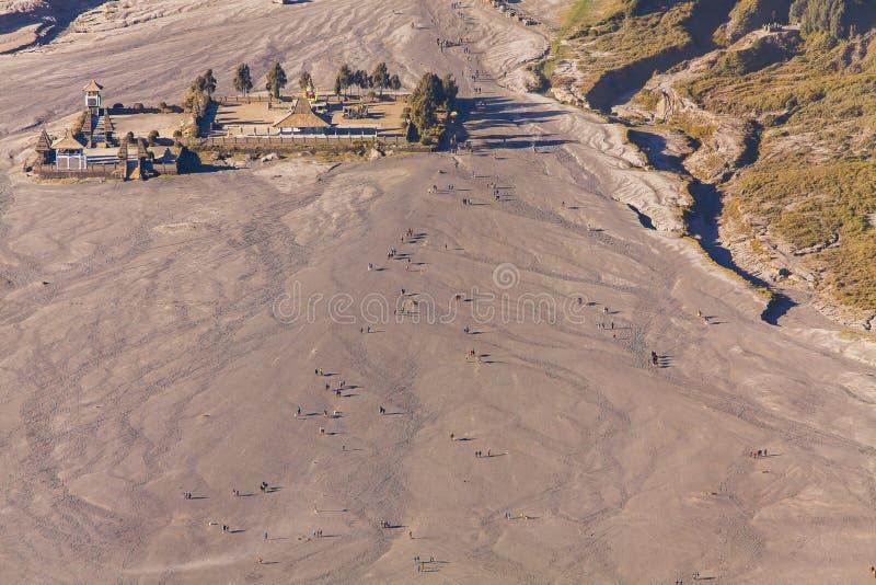 Τοποθετήστε το ηφαίστειο ( Bromo Gunung Bromo)  κατά τη διάρκεια της ανατολής από την άποψη στο υποστήριγμα Penanjakan, σ στοκ εικόνα