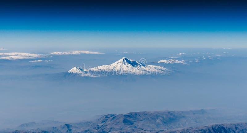 Τοποθετήστε Ararat και λίγο Ararat στοκ εικόνα με δικαίωμα ελεύθερης χρήσης