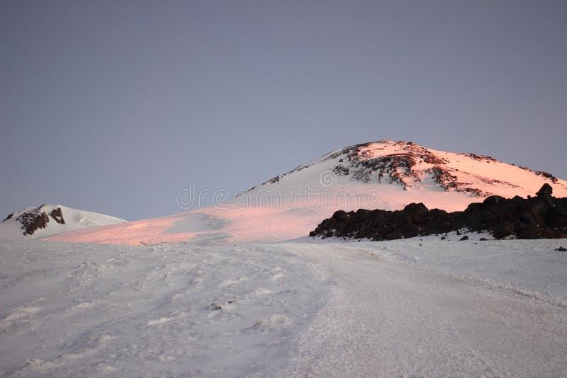 Τοποθετήστε Elbrus στοκ φωτογραφίες