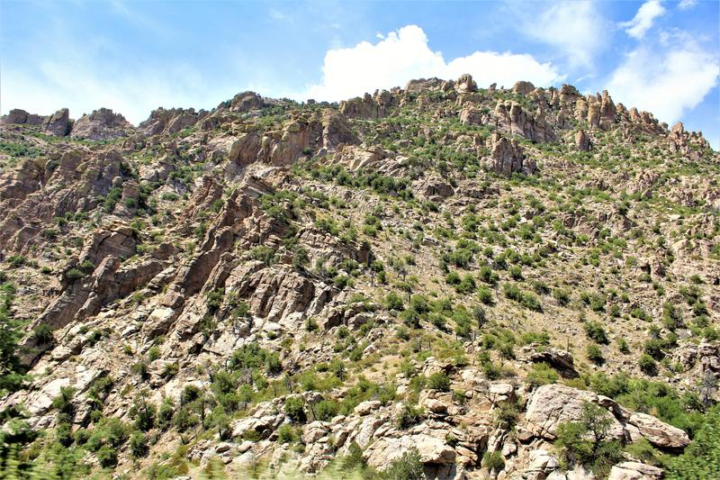 Τοποθετήστε Lemmon, Santa Catalina Mountains, εθνικό δρυμός Coronado, Tucson, Αριζόνα, Ηνωμένες Πολιτείες στοκ εικόνες