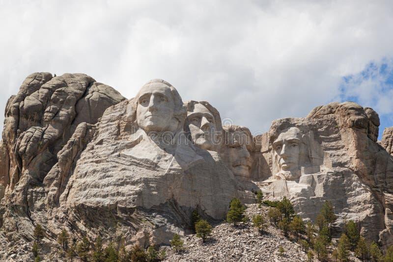Τοποθετήστε Rushmore στην ηλιοφάνεια στοκ φωτογραφία με δικαίωμα ελεύθερης χρήσης