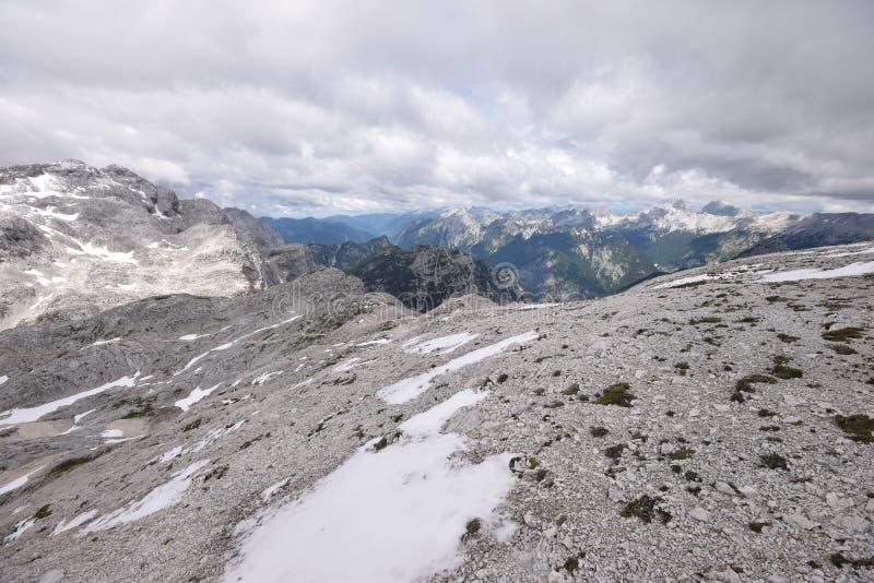 Τοποθετήστε Triglav - ιουλιανές Άλπεις στοκ φωτογραφίες