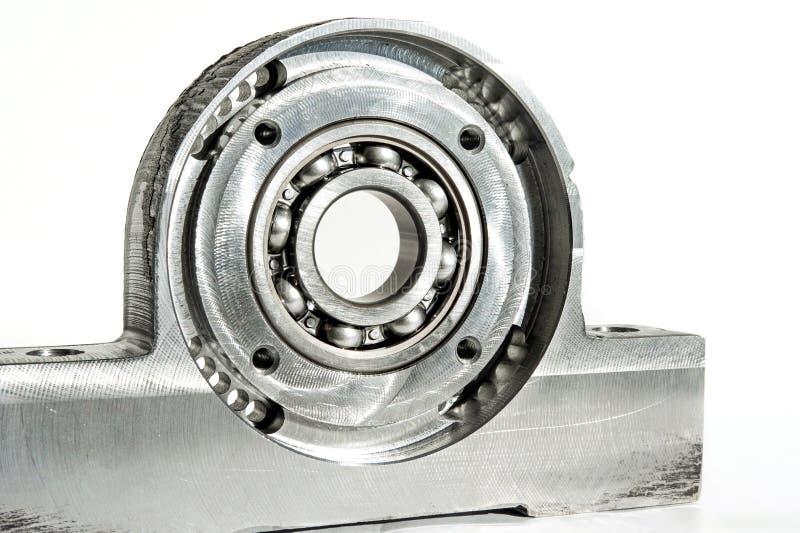 Τοποθετημένη μονάδα ρουλεμάν κυλίνδρων CNC τόρνος άλεσης και indu διατρήσεων στοκ φωτογραφία με δικαίωμα ελεύθερης χρήσης