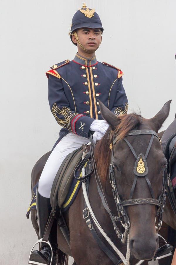 Τοποθετημένος αστυνομικός Μπανγκόκ, Ταϊλάνδη στοκ φωτογραφίες με δικαίωμα ελεύθερης χρήσης