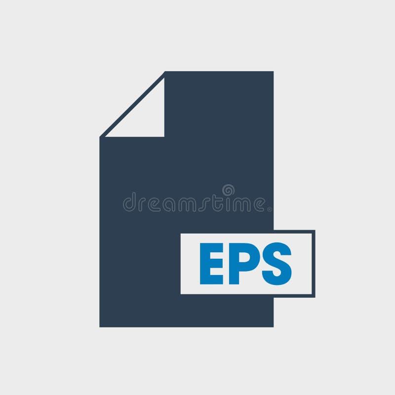 Τοποθετημένο σε κάψα εικονίδιο μορφής αρχείου Post$l*script EPS ελεύθερη απεικόνιση δικαιώματος