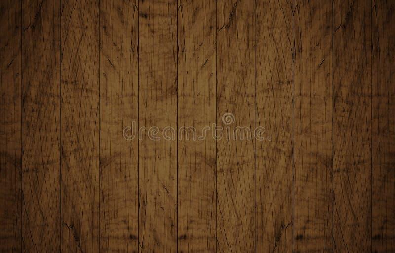 Τοπ άποψη της καφετιάς ξύλινης επιφάνειας στοκ φωτογραφίες με δικαίωμα ελεύθερης χρήσης