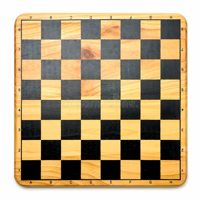 Τοπ άποψη του πίνακα σκακιού στοκ φωτογραφίες