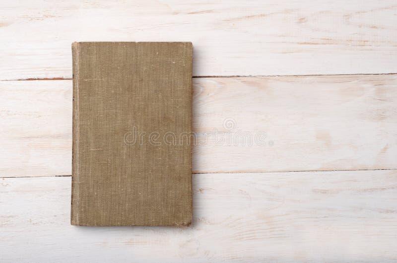 Τοπ άποψη του παλαιού βιβλίου στοκ φωτογραφία