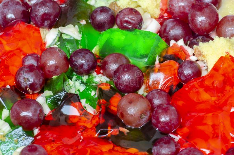 Τοπ στρώμα φρούτων μικροπράγματος στοκ εικόνες