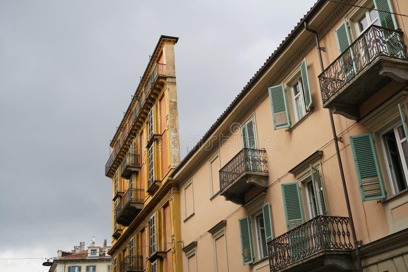 Τορίνο, Casa Scaccabarozzi στοκ εικόνες