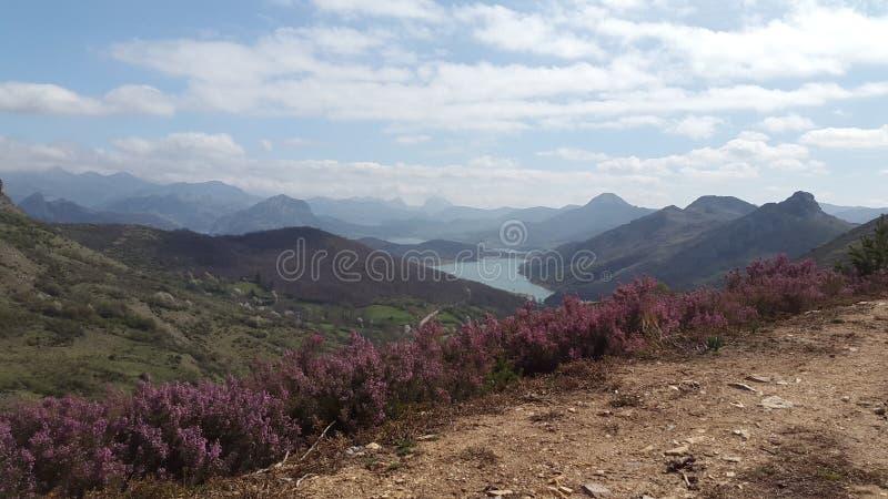 Τοριίο αριό ένα βουνό στο Boñar, León, Ισριανία στοκ φωτογραφίες με δικαίωμα ελεύθερης χρήσης
