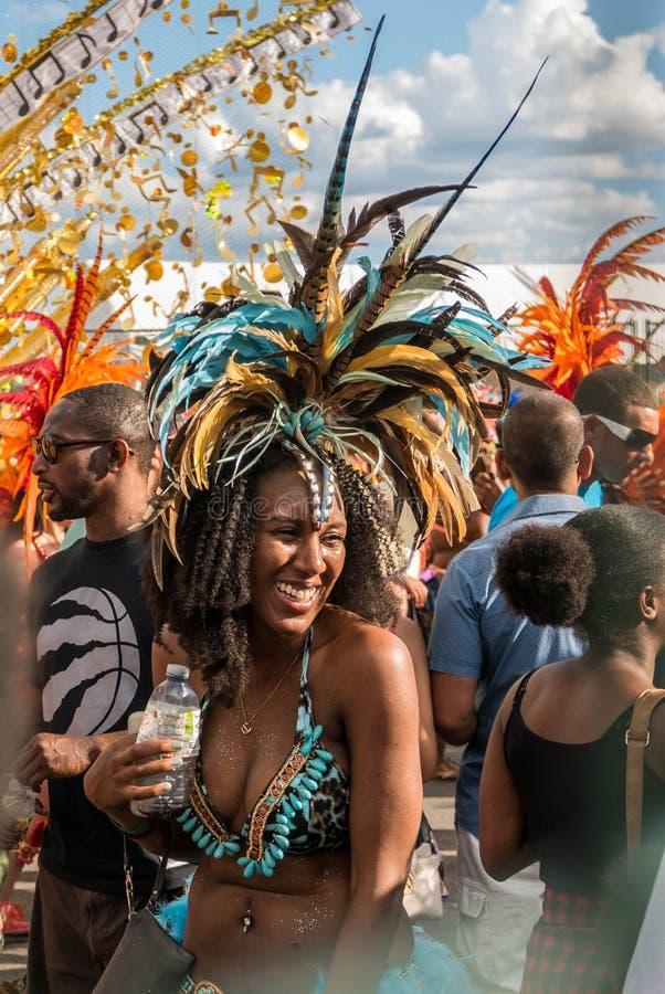 Τορόντο καραϊβικό καρναβάλι 2015 Ο στοκ φωτογραφία με δικαίωμα ελεύθερης χρήσης