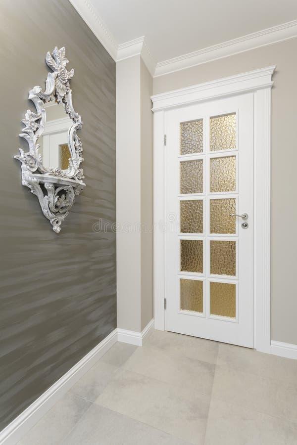 Τοσκάνη - πόρτα στοκ φωτογραφία