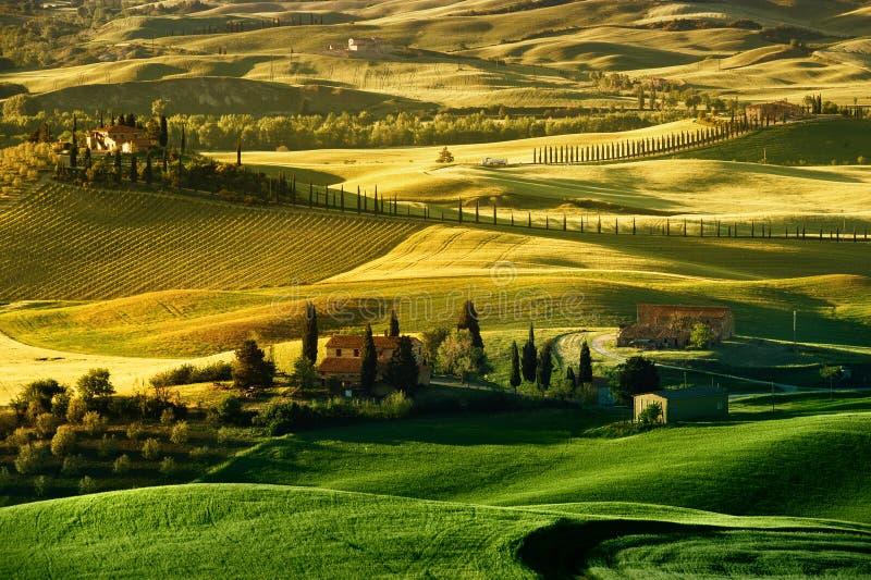 Τοσκάνη - Ιταλία στοκ φωτογραφία