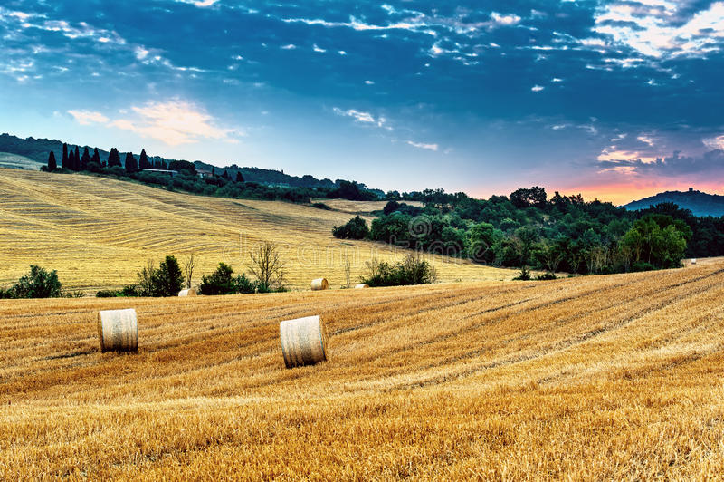 Τοσκάνη - Ιταλία στοκ φωτογραφία με δικαίωμα ελεύθερης χρήσης
