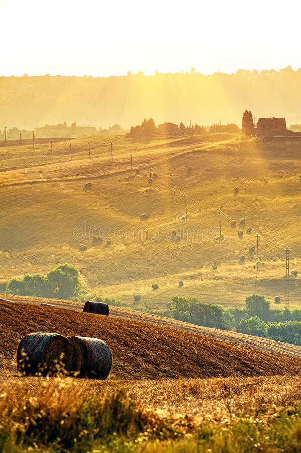 Τοσκάνη - Ιταλία στοκ φωτογραφίες