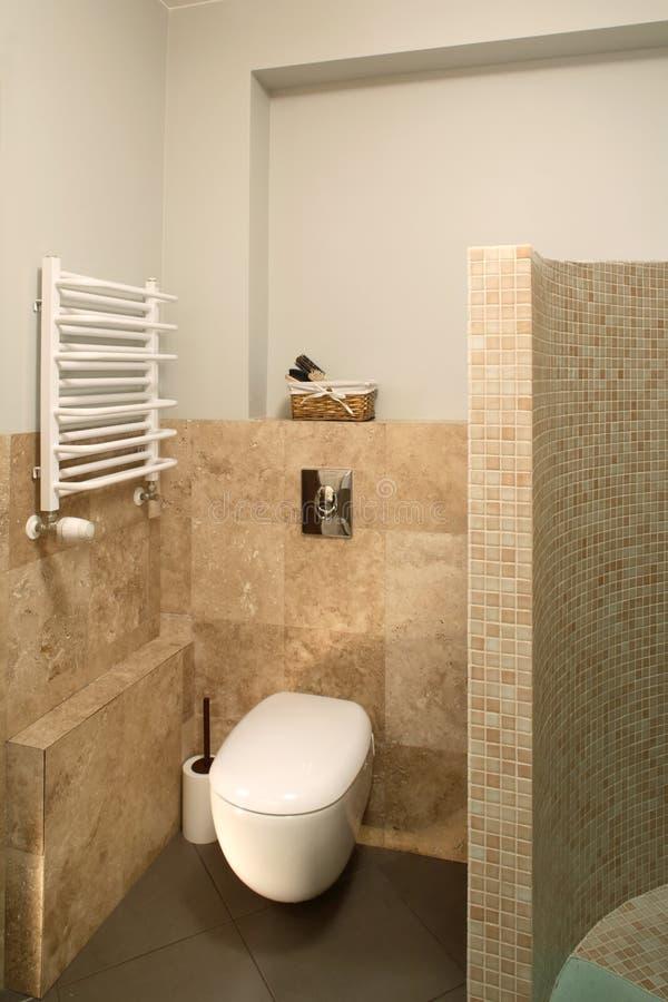 τουαλέτα γωνιών στοκ εικόνα