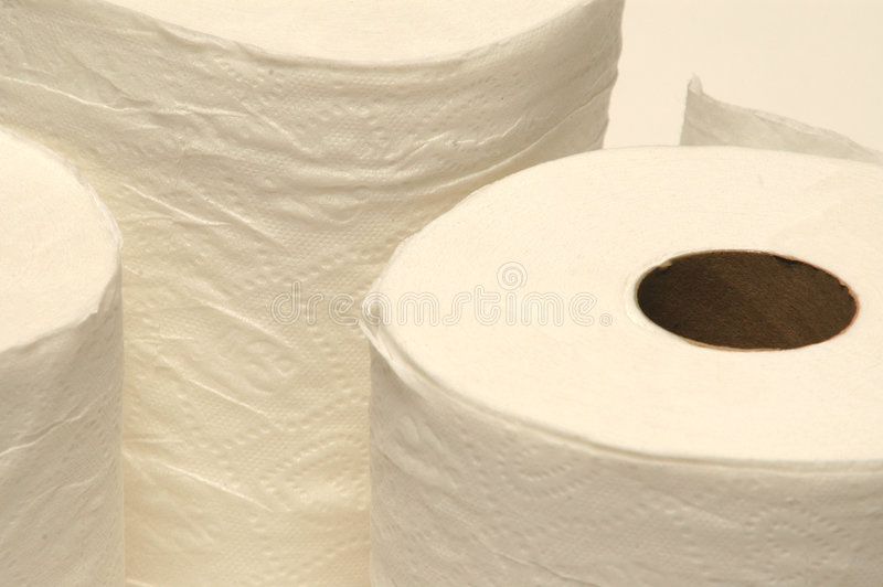 τουαλέτα εγγράφου στοκ φωτογραφία