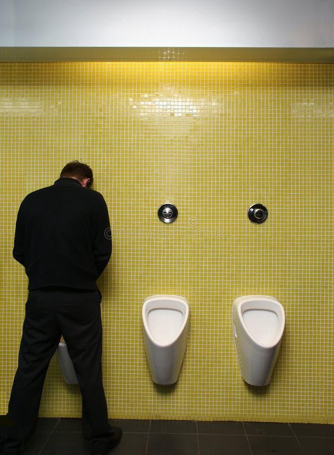 τουαλέτα σπασιμάτων στοκ εικόνα