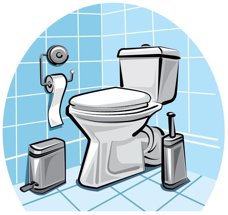 τουαλέτα απεικόνιση αποθεμάτων