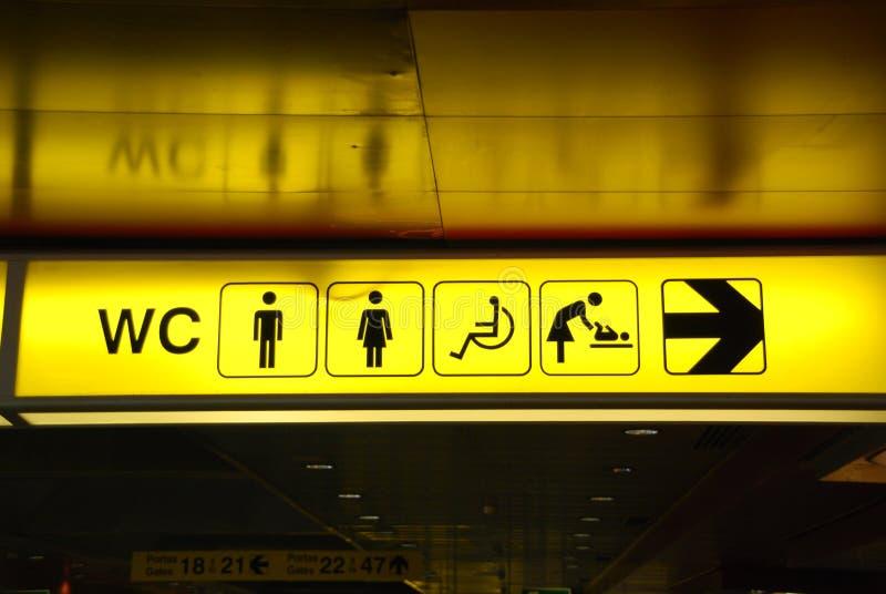 τουαλέτες στοκ εικόνα