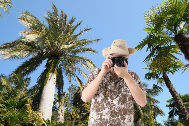 τουρίστας φωτογραφικών μ στοκ φωτογραφία με δικαίωμα ελεύθερης χρήσης