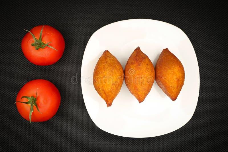 Τουρκικά τρόφιμα Ä°cli Kofte στοκ εικόνα με δικαίωμα ελεύθερης χρήσης
