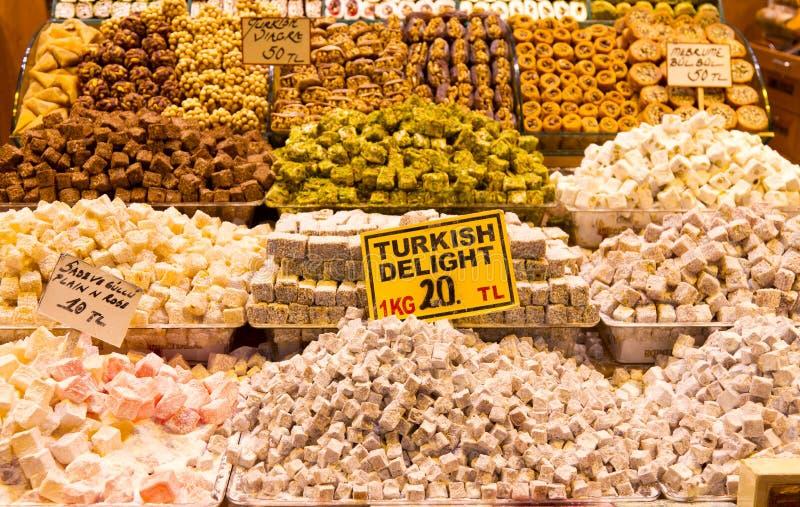 Τουρκικές απολαύσεις στοκ φωτογραφία με δικαίωμα ελεύθερης χρήσης