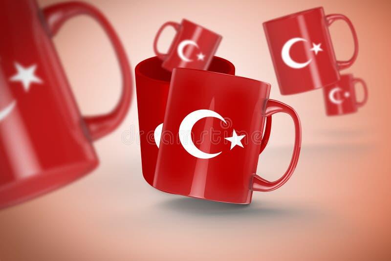 Download Τουρκική σημαία, Τουρκία, σχέδιο σημαιών Στοκ Εικόνα - εικόνα από χώρα, ελευθερία: 62713949