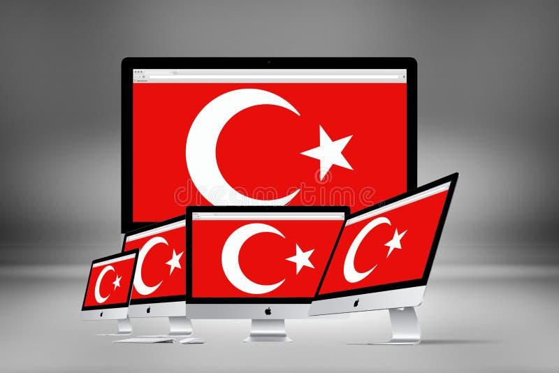 Download Τουρκική σημαία, Τουρκία, σχέδιο σημαιών Στοκ Εικόνα - εικόνα από κωνσταντινούπολη, ανεξαρτησία: 62714957