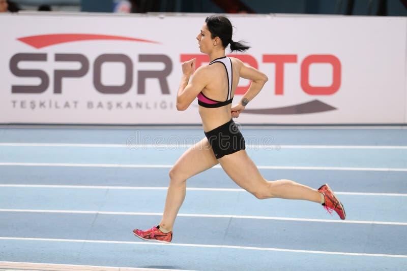 Τουρκικοί αθλητικοί εσωτερικοί ανταγωνισμοί κατώτατων ορίων ομοσπονδίας ολυμπιακοί στοκ εικόνα