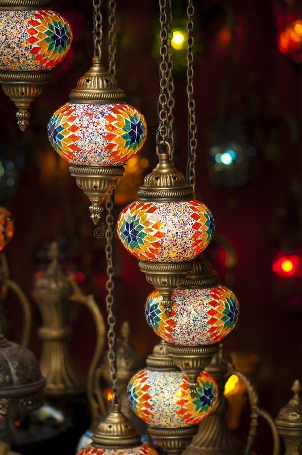 Τουρκικοί λαμπτήρες Στοκ Φωτογραφίες